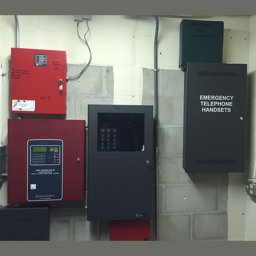 Condo Voice Evac & fire alarm system