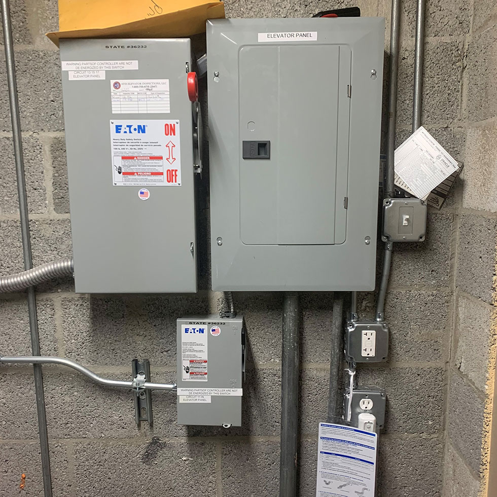 elevator electrical box